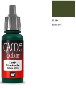 Vallejo Game Color 72064 - Yellow Olive 17ml.