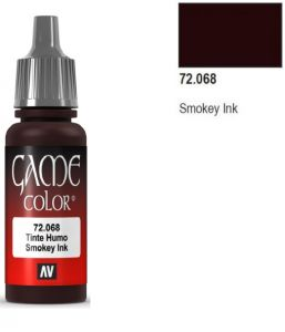 Vallejo Game Color 72068 -  Smokey Ink 17ml.