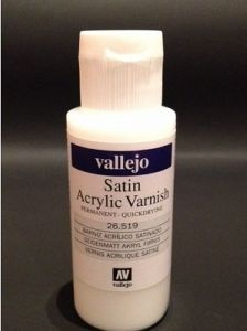 Vallejo 26519 - Satin Acrylic Varnish 60ml