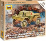 Zvezda 6229 Armored Car Dingo Mk.I 1:100 Art of tactic