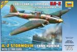 Zvezda 7286 Ilyushin IL-2 Sturmovik Tank Hunter w/37mm guns 1:72