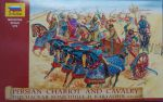 Zvezda 8008 Persian Chariot and Cavalry V-IV B.C. 1:72