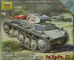 Zvezda 6102 German Light Tank PzKpfw II 1:100 Art of Tactic