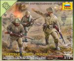 Zvezda 6103 Soviet infantry [1941-43] 1:72 Art of Tactic