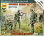 Zvezda 6105 German Infantry [1939-42] 1:72 Art of Tactic