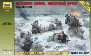 Zvezda 3627 German Infantry [Eastern Front, Winter 1941-42] 1:35