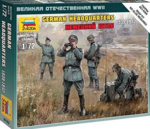 Zvezda 6133 - German Headquarters [1939-42] 1:72