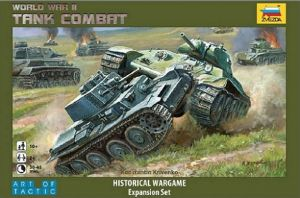 Zvezda 6222 Historical Wargame World War II - Tank Combat, Art of Tactic
