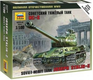 Zvezda 6201 Soviet Heavy Tank IS-2 1:100 Art of Tactic
