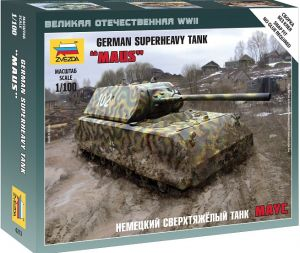 Zvezda 6213 Super Heavy Tank Maus 1:100 Art of Tactic