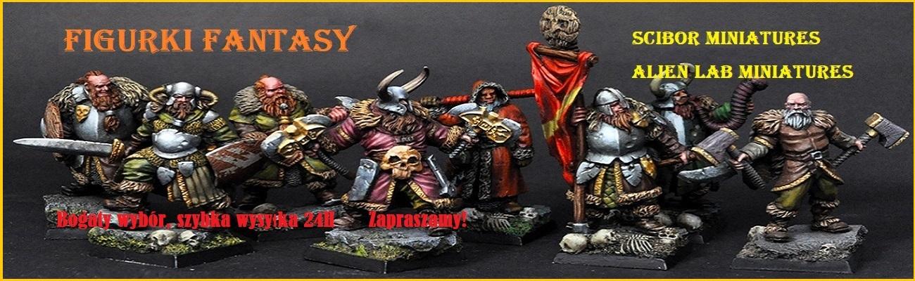Figurki Fantasy - Bogaty wybór, szybka wysyłka 24h - baner