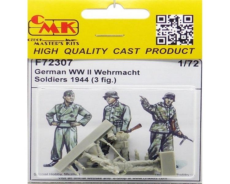 CMK F72307 1//72 German WW II Wehrmacht Soldiers 1944