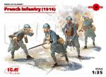 ICM 35691 WWI French Infantry (1916) 1:35