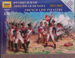 Zvezda 6802 French Line Infantry (1812-1815) 1:72 Art of Tactic
