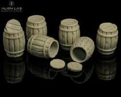 alien-lab-creator-wbbk001-wooden-barrels-28mm-beczki
