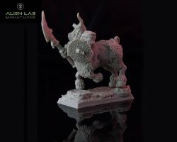 Alien Lab Miniatures DFC001 Fallen Centaur 28mm