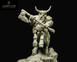 Alien Lab Miniatures DFC002 Fallen Centaur 28mm