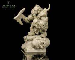 Alien Lab Miniatures OW001 Orc Warrior 28mm - Ork