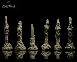Alien Lab Miniatures SC026 Skeletons #2 [6szt] 28/32mm - Szkielety