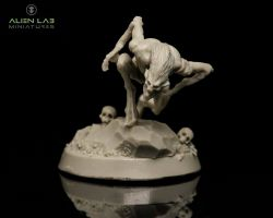 ALien Lab Miniatures SMST001 Striga 28mm - Strzyga