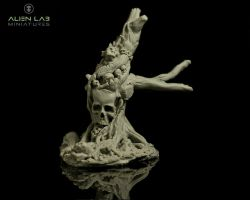Alien Lab Miniatures T013 Dead Tree 28mm - Martwe drzewo