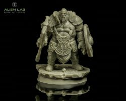 Alien Lab Miniatures VG001 Valhala Guardian 28mm