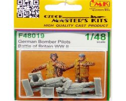 CMK F48019 German Bomber Pilots WW II (Battle of Britain) 1:48