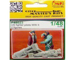 CMK F48023 US Fighter Pilots WW II [2szt] 1:48