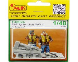 CMK F48024 RAF Fighter Pilots WW II [2szt] 1:48