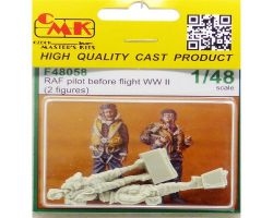 CMK F48058 RAF Pilots Before Flight (2fig) 1:48