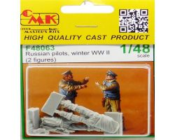 CMK F48063 Russian Pilots, Winter WW II (2 fig.) 1:48