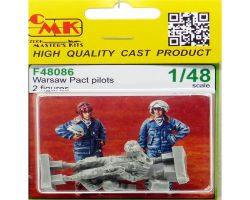 CMK F48086 Warsaw Pact pilots [2 fig] 1:48