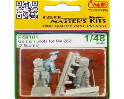CMK F48101 German pilots for Me 262 [2 fig] 1:48