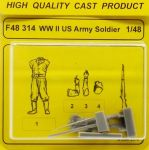 CMK F48314 US Army Soldier WWII 1:48