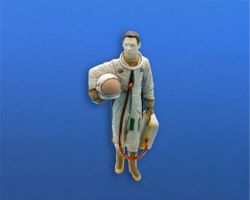 CMK F48363 US Pilot with full pressure suit (SR-71, U-2,...) 1:48