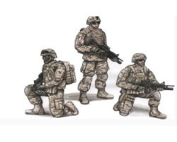 CMK F72343 US Army Infantry Squad 2nd Division 1:72