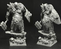 Scibor OGCH0025 Ogre Chief #3 28mm - Ogr wódz