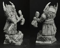 Scibor OGCH0027 Ogre Chief #5 28mm - Ogr wódz
