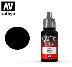 Vallejo Game Color 72051 Black 17ml.