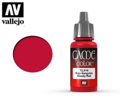 Vallejo Game Color 72010 Bloody Red 17ml.
