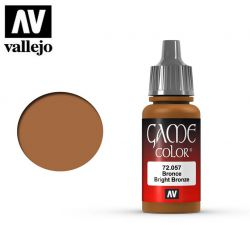 Vallejo Game Color 72057 Bright Bronze 17ml.