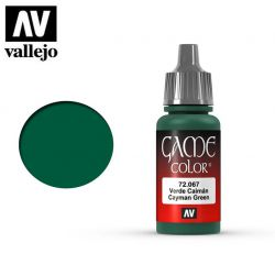 Vallejo Game Color 72067 Cayman Green 17ml.