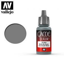 Vallejo Game Color 72053 Chainmail Silver 17ml.