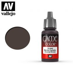 Vallejo Game Color 72045 Charred Brown 17ml.