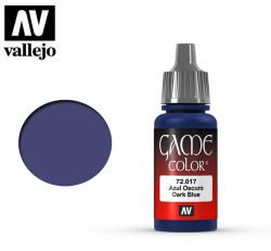 Vallejo Game Color 72017 Dark Blue 17ml.