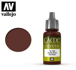 Vallejo Game Color 72136 Dry Rust 17ml.