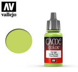 Vallejo Game Color 72104 Fluorescent Green 17ml