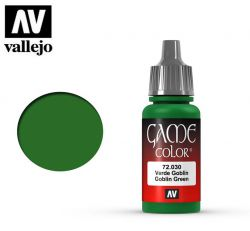 Vallejo Game Color 72030 Goblin Green 17ml.