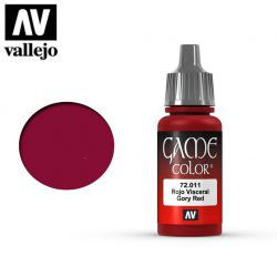 Vallejo Game Color 72011 Gory Red 17ml.