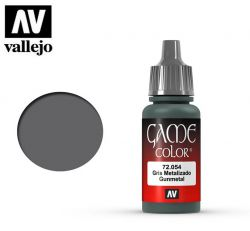 Vallejo Game Color 72054 Gunmetal 17ml.